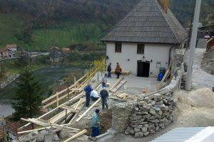 Početak gradnje abdesthane 2013.god.