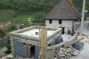 Gradnja abdesthane