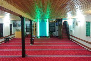 Unutrašnjost džamije u Vranduku